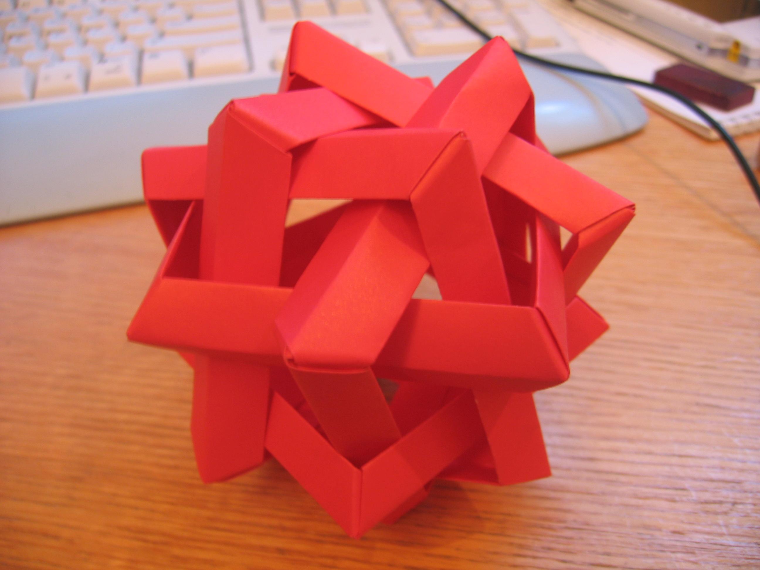 3D Origami Pokeball Diagram by pokegami on DeviantArt | 1944x2592